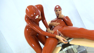 Horny And Kinky Rubber Nurses